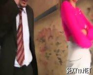 Teacher Is Getting Wet Blowjob - scene 2