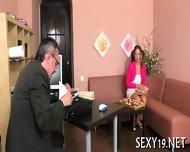 Teacher Is Getting Wet Blowjob - scene 4