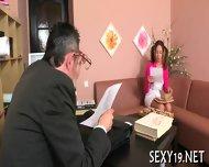 Teacher Is Getting Wet Blowjob - scene 6