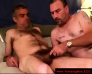 Mature Straight Bear Amateurs Sucking - scene 1