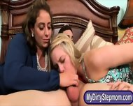 Eva Notty And Allie Rae Threeway Until Allie Tastes The Cum - scene 7