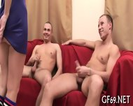 Babe Is Sharing Her Chaste Twat - scene 7