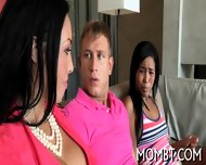 Amorous And Explicit Threesome - scene 1