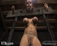 Beauty Tears Up During Torture - scene 8
