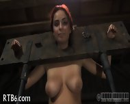 Beauty Tears Up During Torture - scene 2