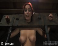 Beauty Tears Up During Torture - scene 3