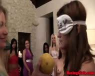 Hazed Coed Teens Playing Games - scene 6