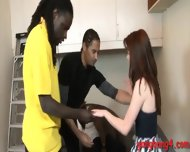 Teen Slut Anal Fucked And Deepthroats Big Black Cocks - scene 5