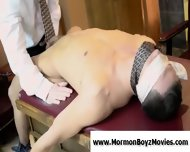 Young Guy Bound Using Neckties And Fingered By A Gay Man - scene 4