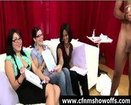 Amateur Girls Watch Cfnm Guys Jerk Off - scene 12