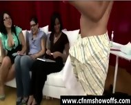 Amateur Girls Watch Cfnm Guys Jerk Off - scene 5
