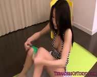 Beautiful Japanese Teen Fitness Babe Fucked - scene 8
