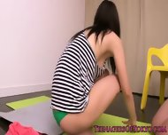 Beautiful Japanese Teen Fitness Babe Fucked - scene 6