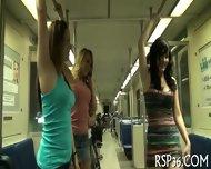 Teen Threesome Goes Bad - scene 2