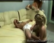 Blonde Hottie Destroys Pervs Little Butt With Her Huge Strapon - scene 11