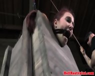 Bdsm Sub In Slave Mask Gets Dildofucked - scene 8
