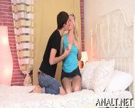 Stretching Beautys Tight Anal Canal - scene 2