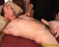 Jock Dude Visits A Gay Massage Parlor - scene 2