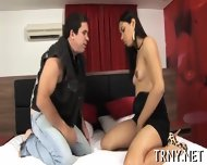 Vicious Tranny Swallows Dick - scene 5
