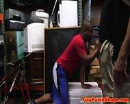 Real Pawnbrokers Nailing Ebony Bloke - scene 2