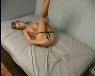 Blondie masturbating - scene 2