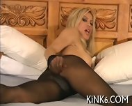 Pussy Show In Pantyhose - scene 9