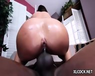 Jamie Jackson Loves Big Black Cock - scene 9