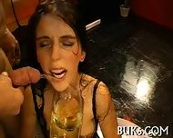 Cumshots On Babe S Pretty Face - scene 2