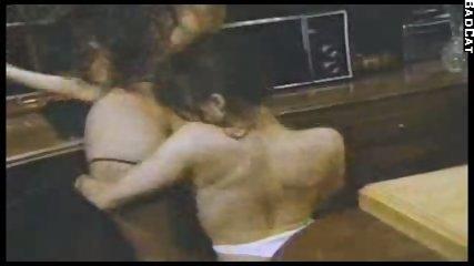 2 lesbians in a kitchen - scene 6
