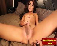 Thai Young Amateur Tgirl Masturbates - scene 9
