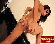 Thai Young Amateur Tgirl Masturbates - scene 12