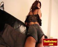 Thai Young Amateur Tgirl Masturbates - scene 2