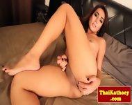 Thai Young Amateur Tgirl Masturbates - scene 6