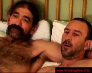 Kinky Blue Collar Smoker Jerks Dick - scene 10