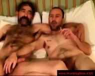 Kinky Blue Collar Smoker Jerks Dick - scene 11