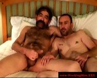 Kinky Blue Collar Smoker Jerks Dick - scene 12
