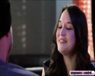 Shay Fox Deepthroats Stepdaughters Boyfriends Cock In Front Of Her - scene 1