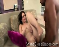 Milf Gets Stretched By A Huge Black Meatbone In Front Of Her Husband - scene 10