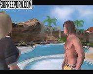 Big Tit Sluts Outdoors - scene 3