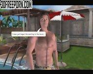 Big Tit Sluts Outdoors - scene 6