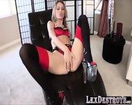 Sexy Blonde Natasha Starr Gets Destroyed By Lexington Steele - scene 2