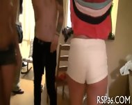 Joyful Teens Arrange Orgy - scene 6