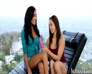 Two Tight Teens Sara Luvv And Chloe Amour Lesbian Action - scene 3