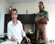 Buff Body Builder Sucking - scene 5