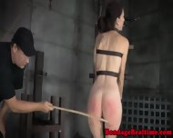 Restrained Sub Getting Her Ass Punished - scene 7