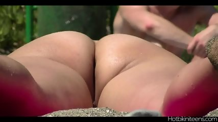 Nudist Beach Naked Babes Tanning Spy Cam Hd Video - scene 6
