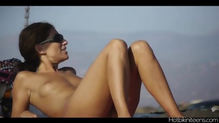 Nudist Beach Naked Babes Tanning Spy Cam Hd Video - scene 7
