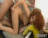 Teen Gets Amorous Pounding - scene 10
