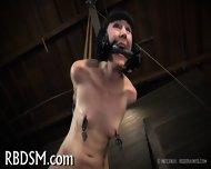 Spreading Open Slave S Pussy - scene 3