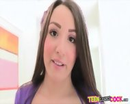 Gorgeous Teen Lola Foxx Interracial Sex With Horny Black Man - scene 4